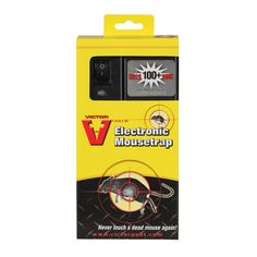 In My house, I would reach for a Victor® Electronic Mouse Trap. It has a safety shut-off and a tunnel design that make this the ideal rodent control solution to use around kids and pets! Kills 100 mice per set of batteries and has a kill rate! Mice Control, Bug Control, Pest Control Supplies, Pest Control Services, Dead Mouse, Living Alone, Pest Solutions, Mouse Traps, Garden Guide