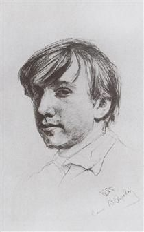 Self-Portrait - Valentin Serov