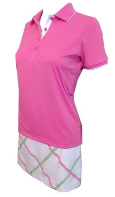 Meet our new Beach House Greg Norman Ladies Golf Outfit, love the sweet pastel colors! #golf #fashion #ootd #lorisgolfshoppe