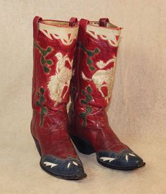 Inlaid Cowboy Boots