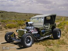 Jeep Willy hot rod.  Possibly the coolest car I've ever seen.