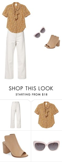 """stepping out"" by beccagh7 on Polyvore featuring Lemaire, Monki and Steve Madden"