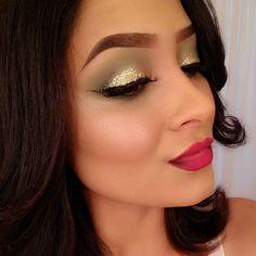 Gold Sparkle # Makeup / Best LoLus Makeup Fashion