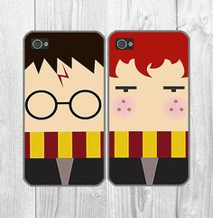 Best friends Harry Potter iPhone case - Best Friend iPhone 5 Case, iPhone 5c Case iPhone 5S Case One For Your BFF Set Phone Case Gift on Etsy, $20.00