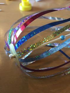 f:id:murasakitoaoinoue:20170904170513j:plain Cuff Bracelets, Bangles, Activities For Kids, Diy Crafts, Jewelry, Decor, Toddler Activities, Recycling, Upcycled Crafts