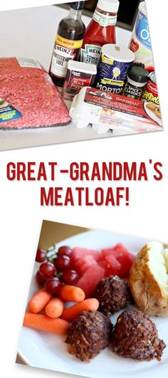 Great Grandma's Meatloaf