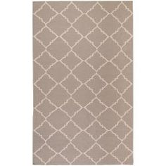 @Overstock - Hand-woven in wool, this rug features vibrant colors of brindle, taupe beige. With extravagant details and a one-of-a-kind design, this rug is the perfect addition to any home.http://www.overstock.com/Home-Garden/Hand-woven-Gray-Wool-Bascom-Rug-5-x-8/6562079/product.html?CID=214117 $164.89