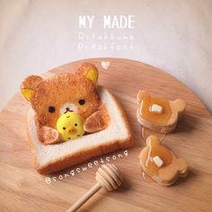 relakkuma toast and pancakes