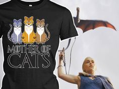 Mother of dragons.. cats :)