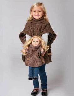 Crochet your Doll Clothes Does your little one play with those very popular 18″…