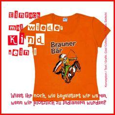 T-Shirt Brauner Bär
