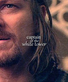 Boromir of Gondor, Captain of the White Tower. Gandalf, Aragorn, Legolas, Kili, Thranduil, Fellowship Of The Ring, Lord Of The Rings, Eddard Stark, Concerning Hobbits