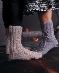 1000 images about socks and slippers on pinterest for Warm cabin socks
