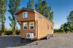 Mint Tiny House Company: Online design and gooseneck bedrooms