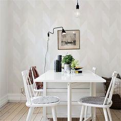 Papier peint - Sandberg - Kira - White/Creame/Silver/Gold