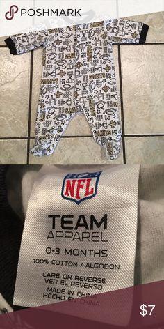 NFL Saints Onesie NFL Saints Onesie. Brand New! Never worn! NFL One Pieces Footies