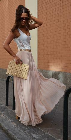 maxi skirt#