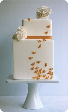I love this cake, especially since my name means butterfly in Greek.