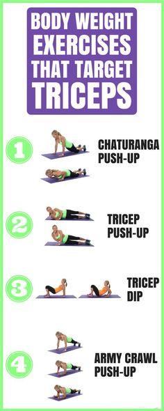 Tone your triceps with these bodyweight moves  | Posted By: NewHowToLoseBellyFat.com