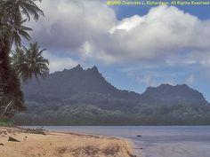 Beautiful Mount Finkol on Kosrae Island (PRNewsFoto/Kosrae Visitors Bureau).