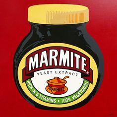 Buy Marmite, Acrylic painting by Simon Fairless on Artfinder. Discover thousands of other original paintings, prints, sculptures and photography from independent artists. Large Painting, Ceramic Painting, Watercolor Painting, Early American, Native American Art, Paintings For Sale, Original Paintings, Atomic Decor, Bad Room Ideas