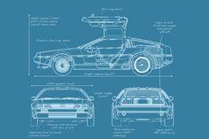 Blueprint: DeLorean DMC-12 sports car - E & T Magazine