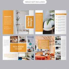 Discover recipes, home ideas, style inspiration and other ideas to try. Luxury Brochure, Design Brochure, Business Brochure, Brochure Template, Page Layout Design, Graphic Design Layouts, Leaflet Design, Luxury Marketing, Door Design