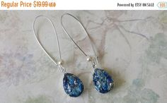 Hey, I found this really awesome Etsy listing at https://www.etsy.com/il-en/listing/398218455/on-sale-sapphire-harlequin-opal-earring
