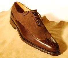 Franc Maestri Calzature  Leather & Suede men's shoe