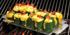 Grilled Jalapeno Poppers recipe