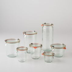 Weck jars from Schoolhouse Electric
