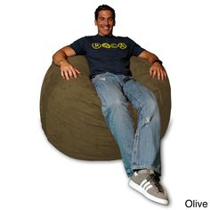 Sitting Bull Fashion Bean Bag Chair