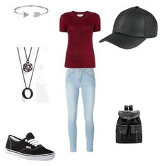 """""""Untitled #2"""" by majakeuk16 ❤ liked on Polyvore featuring Étoile Isabel Marant, Vans, Frame Denim, Bling Jewelry and ASOS"""