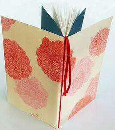カリメラノート*薔薇 diy notebooks