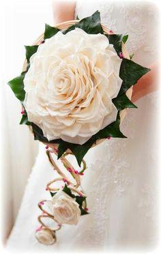Ramos de novia: Rosmelias, glamelias…
