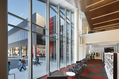Cedar Rapids Public Library - Downtown - OPN Architects