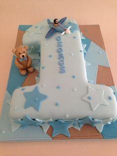 Birthday Cake - Cake by Sadie Smith Toddler Birthday Cakes, 1st Birthday Cake For Girls, Birthday Wishes Cake, 50th Birthday, Cake Drawing, Baby Embroidery, Celebration Cakes, Leo, Scrapbook