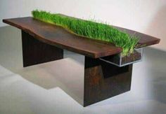 My grandma would want this cool table:)