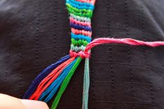 How to Make a Friendship Bracelet: 19 steps - wikiHow