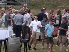 A day after tying the knot in one of the nation's most anticipated weddings, rugby royalty Richie McCaw and his new bride Gemma Flynn were back at the Wanaka Olive Grove today for - New Zealand Herald