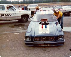 JP Logistics Car Transport -  Got one?  Ship it with http://LGMSports.com One of my favs....Blue Max Mustang 1975