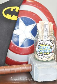 Design Dazzle: Summer Camp: Super Heroes Boredom Busters
