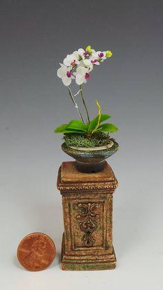 Objet D'art Miniature by Van T Potter Porcelain Pottery