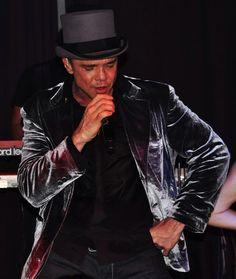 Netinho no seu show no Birgmingham Palace, em Bruxelas/Reino da Bélgica em 18 de junho de 2011.