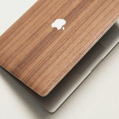 We loudly say NO to boring and all the same . Get your walnut MacBook case on woodd.it  #woodd #apple #macbook #walnut #wood