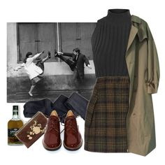 A fashion look from May 2016 featuring strap crop top, long vintage coat and woolen skirt. Browse and shop related looks. Mode Outfits, Retro Outfits, Grunge Outfits, Fall Outfits, Vintage Outfits, Casual Outfits, Vintage Fashion, Fashion Outfits, Aesthetic Fashion