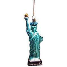 Kurt Adler 4.75 5.5-Inch Glass Ornament Set of 2 2 Piece