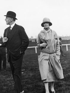 """* Bendor duc de Westminster et Chanel 1924 """"We have had alot in common , even the nick names :) Bendor was a fav female horse of his grand dad,Coco cames from the song about the ruster """" Coco Chanel"""