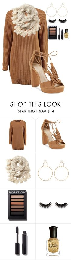 """Untitled #2203"" by mfr-mtz ❤ liked on Polyvore featuring Boohoo, 424 Fifth, Athleta, Natasha Schweitzer, Chanel and Deborah Lippmann"