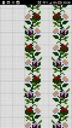 Cross Stitch Floss, Cross Stitch Embroidery, Embroidery Patterns, Cross Stitch Designs, Cross Stitch Patterns, Peyote Stitch, Loom Beading, Bead Weaving, Pixel Art